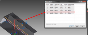 Solid Edge Lemezalkatrész Hajlítási tábla modellezési környezetben 2.
