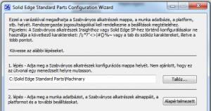 Machinery Library konfigurálása